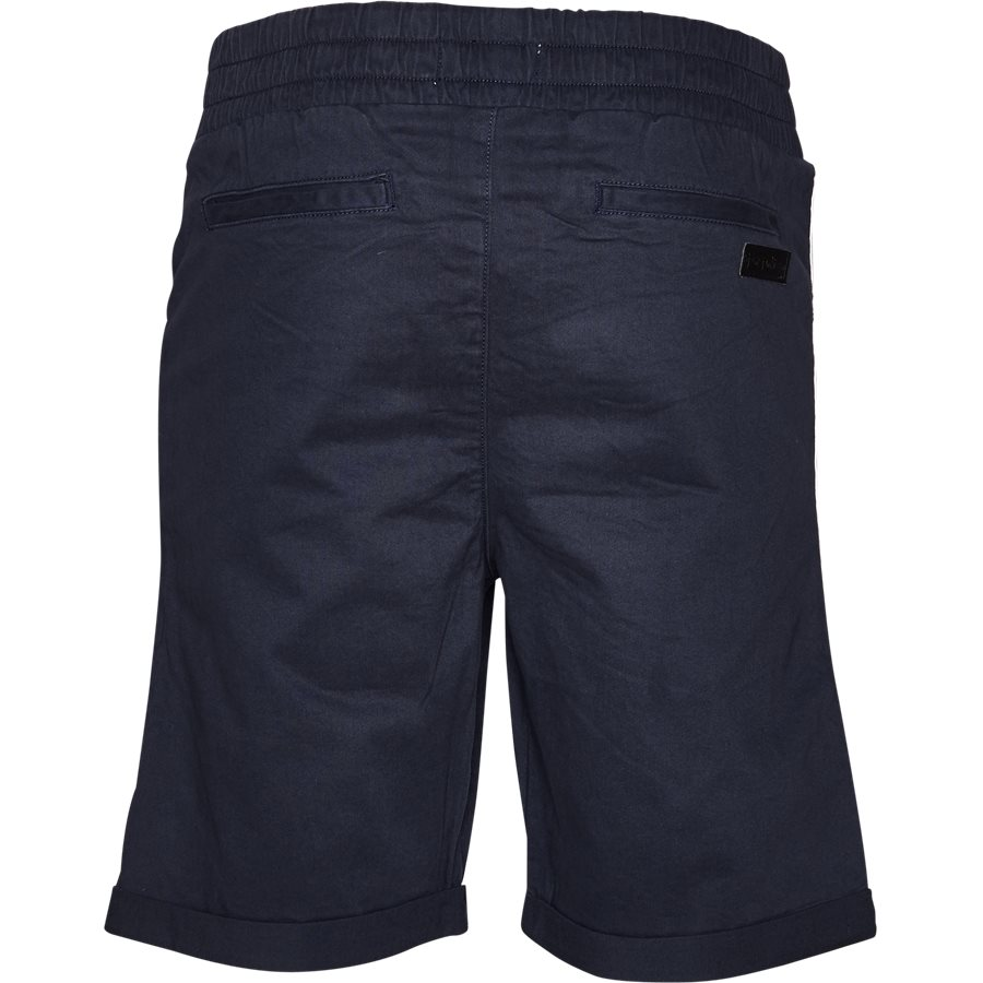 FLEX TUX SHORTS - FLEX TUX - Shorts - Regular fit - NAVY/HVID - 3