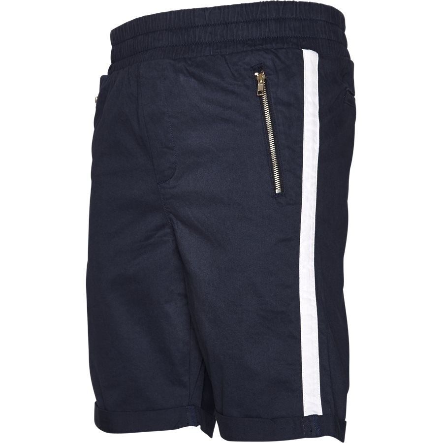 FLEX TUX SHORTS - FLEX TUX - Shorts - Regular fit - NAVY/HVID - 1
