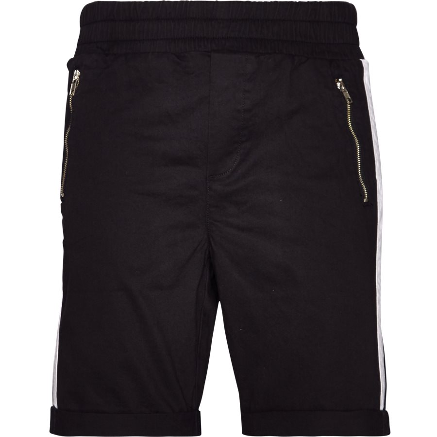 FLEX TUX SHORTS - FLEX TUX - Shorts - Regular fit - SORT/HVID - 2