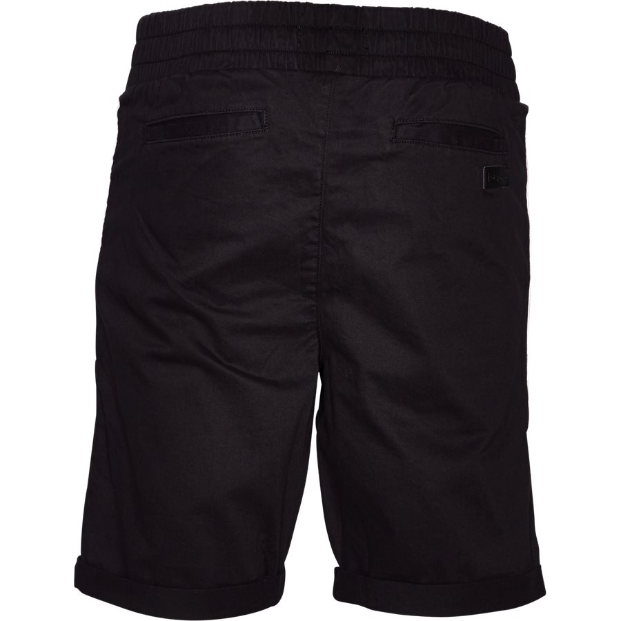 FLEX TUX SHORTS - FLEX TUX - Shorts - Regular fit - SORT/HVID - 3