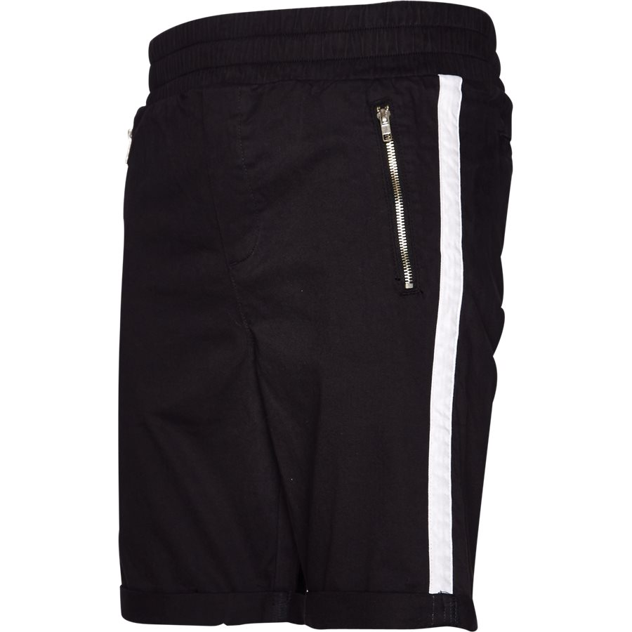 FLEX TUX SHORTS - FLEX TUX - Shorts - Regular fit - SORT/HVID - 1