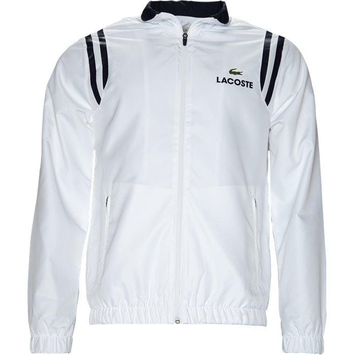 WH3380 Track Top - Sweatshirts - Regular - Hvid