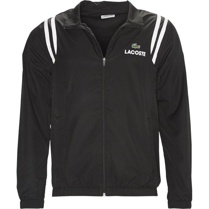 WH3380 Track Top - Sweatshirts - Regular - Sort