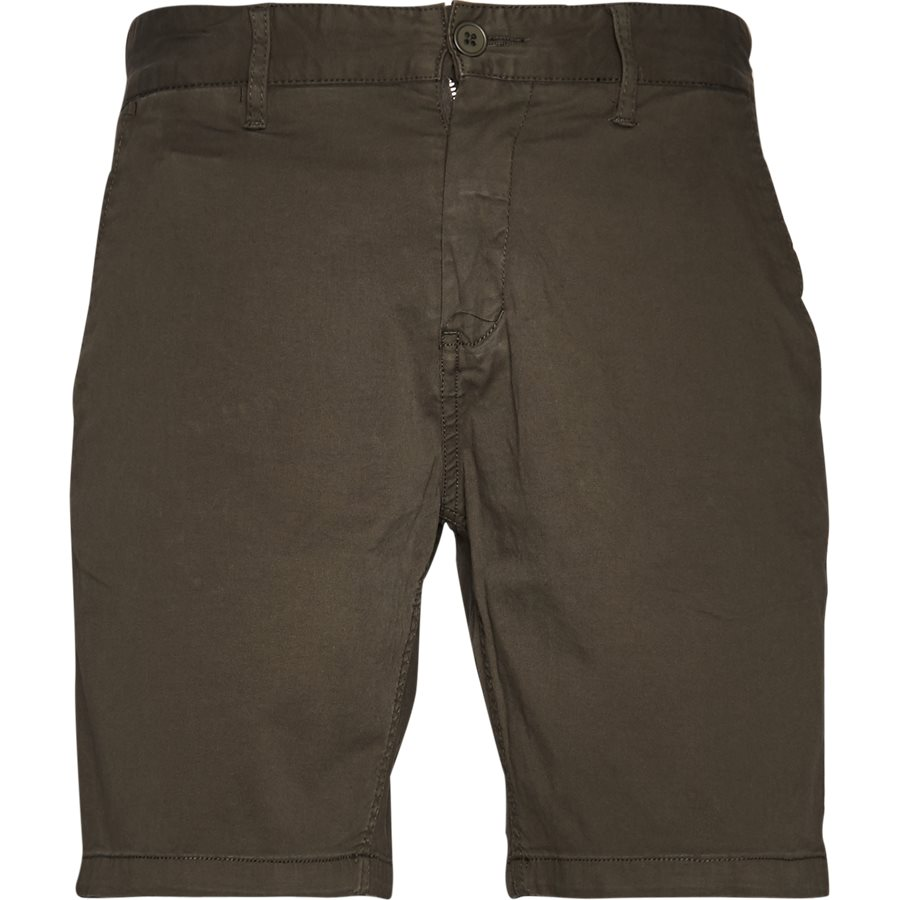 FREDE 2,0 - Frede - Shorts - Regular - ARMY - 1
