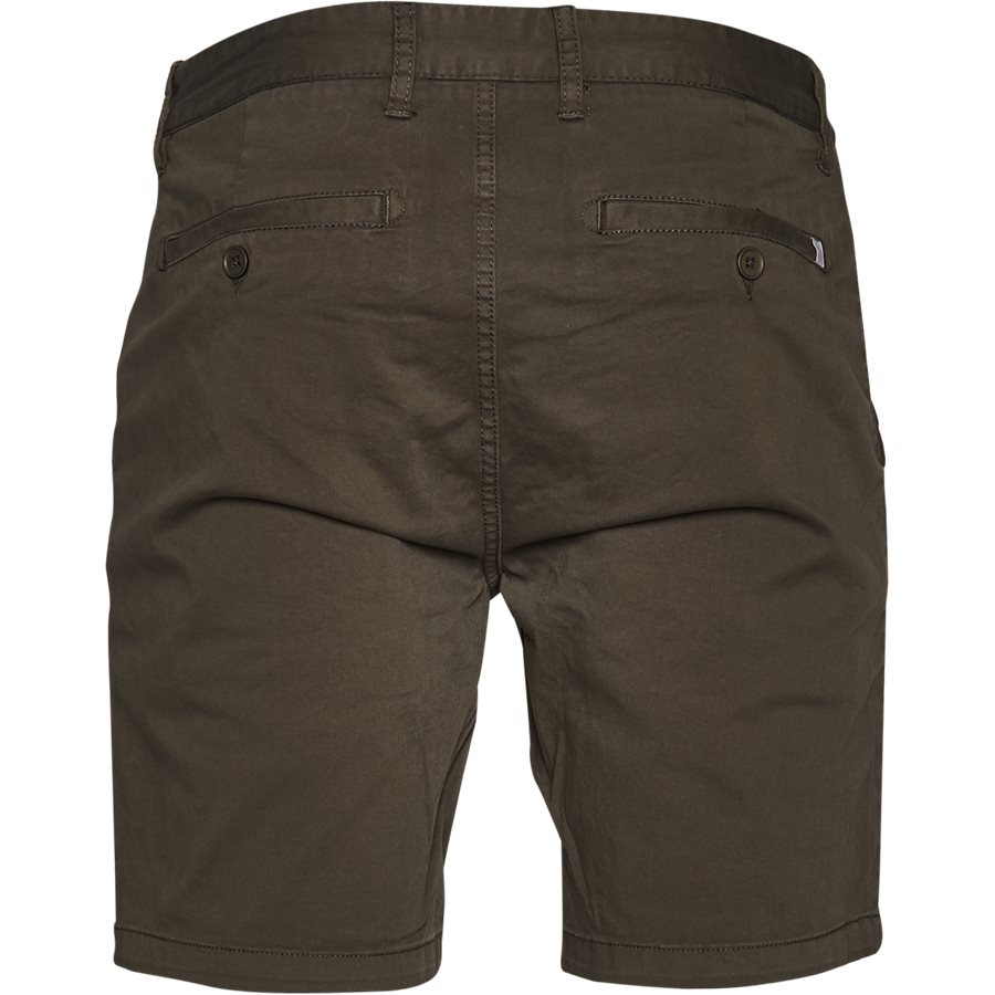 FREDE 2,0 - Frede - Shorts - Regular - ARMY - 2