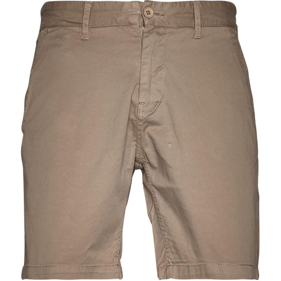 FREDE 2,0 - Frede - Shorts - Regular - KHAKI - 1