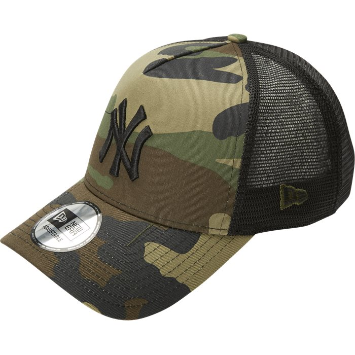 Team Trucker Camo - Caps - Army