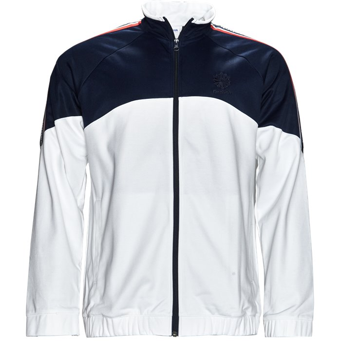 F Franchise Track Top - Sweatshirts - Regular - Blå