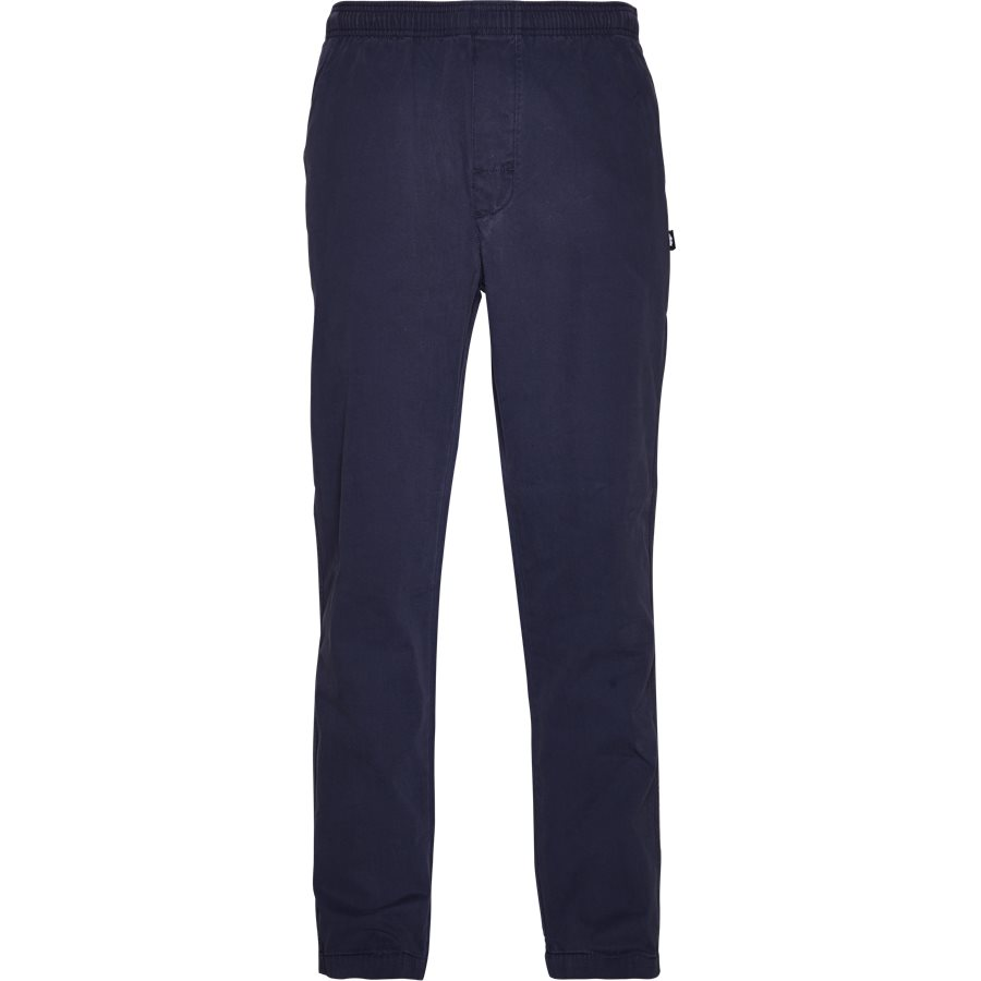 BRUSHED PANT 116345 - Brushed Pant - Bukser - Regular - NAVY - 1