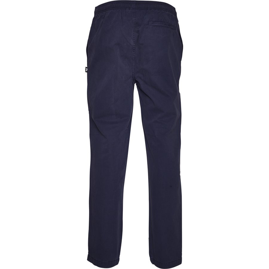 BRUSHED PANT 116345 - Brushed Pant - Bukser - Regular - NAVY - 2