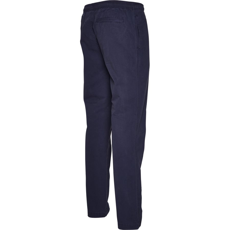 BRUSHED PANT 116345 - Brushed Pant - Bukser - Regular - NAVY - 3