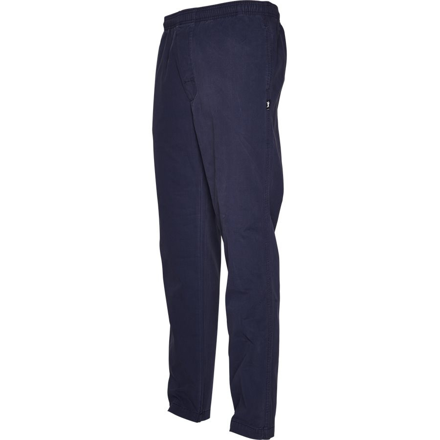 BRUSHED PANT 116345 - Brushed Pant - Bukser - Regular - NAVY - 4