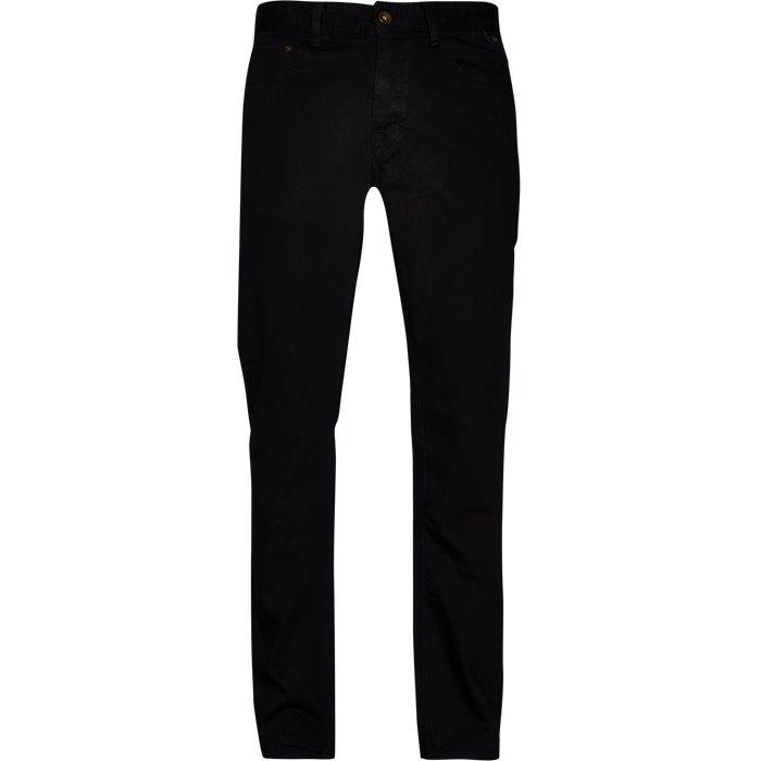 Jeans - Regular - Svart