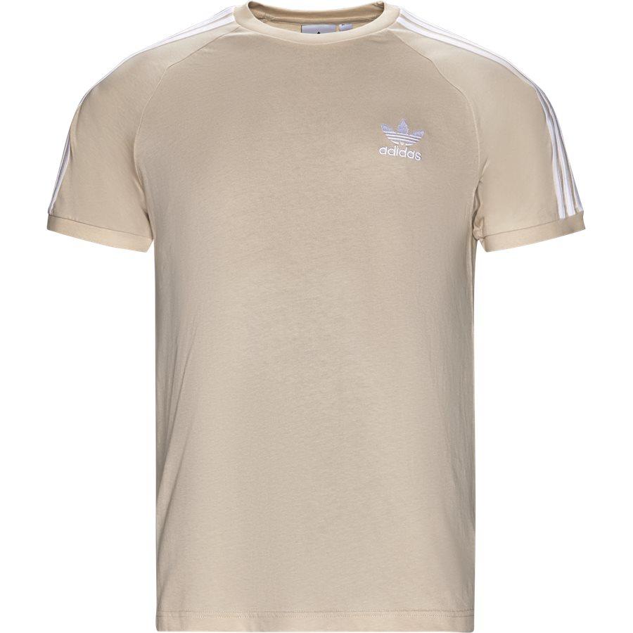 3 STRIPES TEE CZ454 - 3 Stripes Tee - T-shirts - Regular - SAND - 1