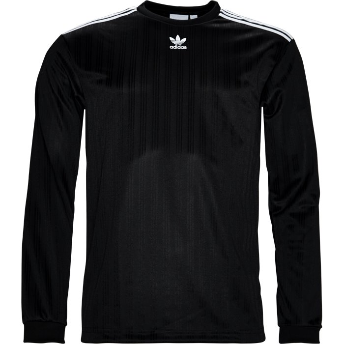 L/S Jersey - T-shirts - Regular - Sort