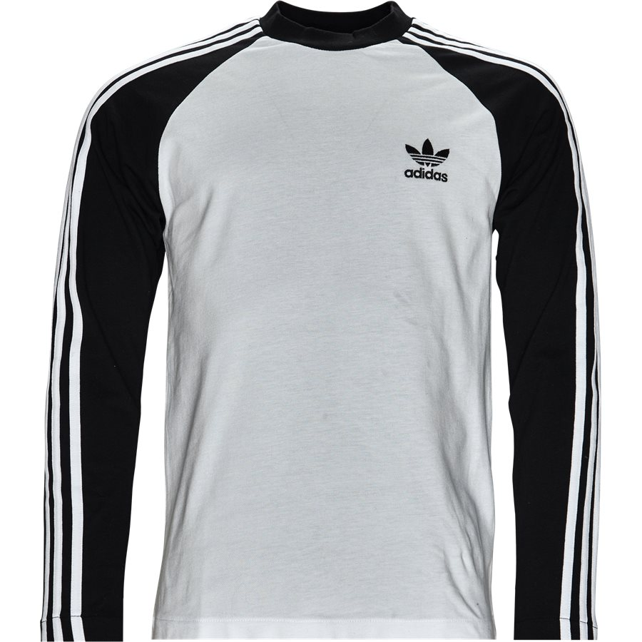 3 STRIPES LS CW1228 - 3 Stripes LS - T-shirts - Regular - SORT - 1