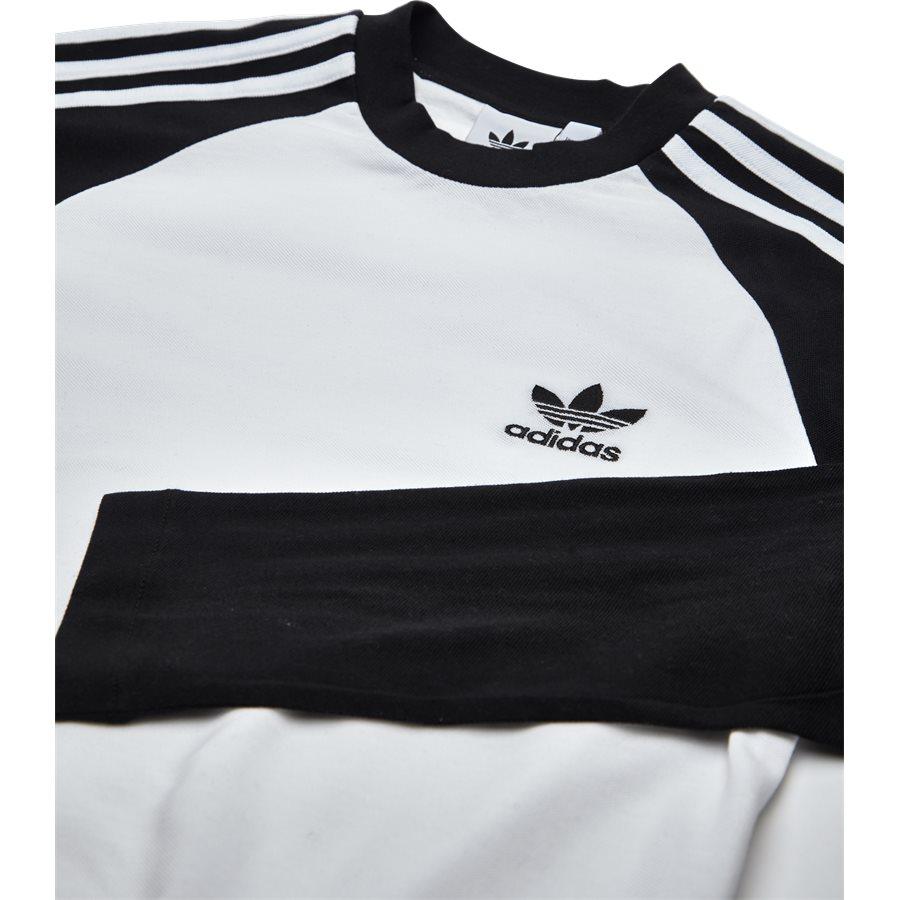 3 STRIPES LS CW1228 - 3 Stripes LS - T-shirts - Regular - SORT - 3