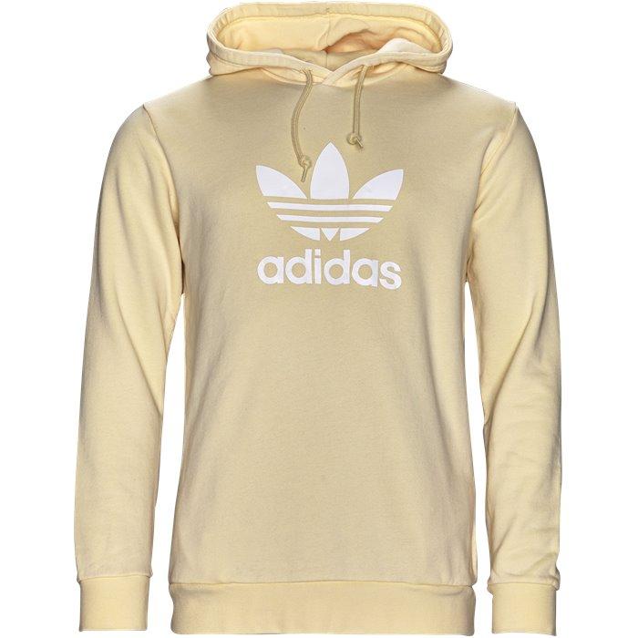Trefoil Hoody - Sweatshirts - Regular - Gul