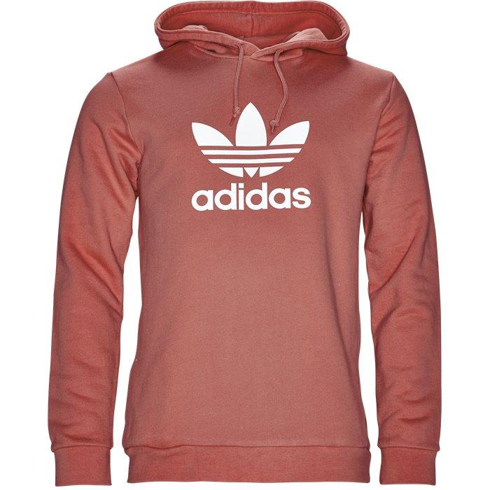 Trefoil Hoody - Sweatshirts - Regular - Rød