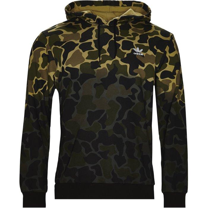 Camo Hoodie - Sweatshirts - Regular - Army