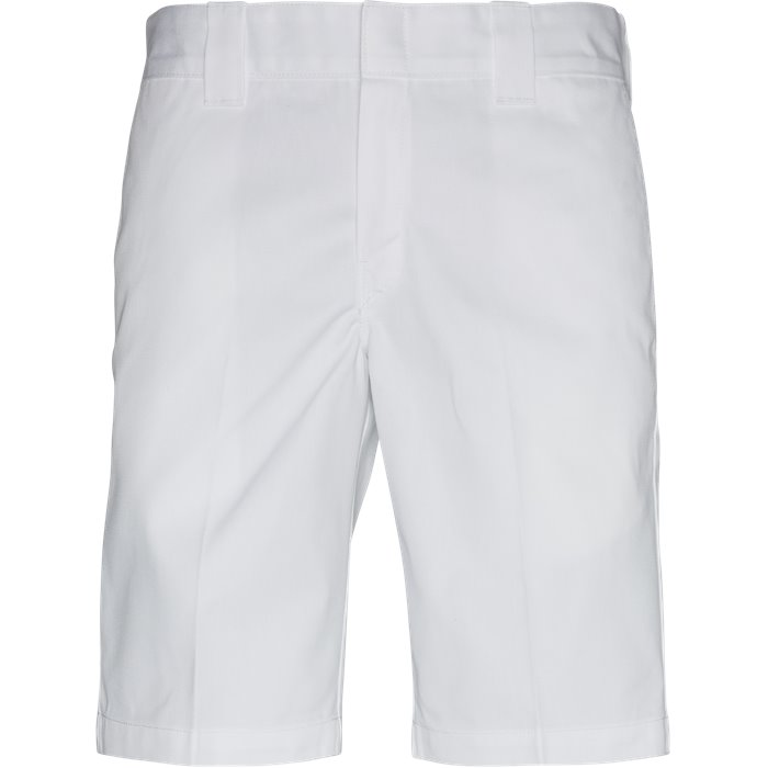 Slim Straight Work  - Shorts - Regular - Hvid