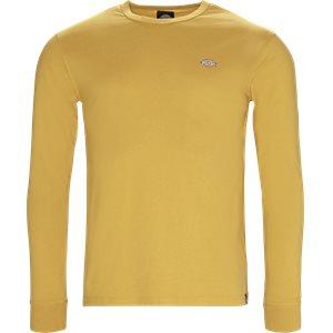 Round Rock langærmet t-shirt Regular | Round Rock langærmet t-shirt | Gul