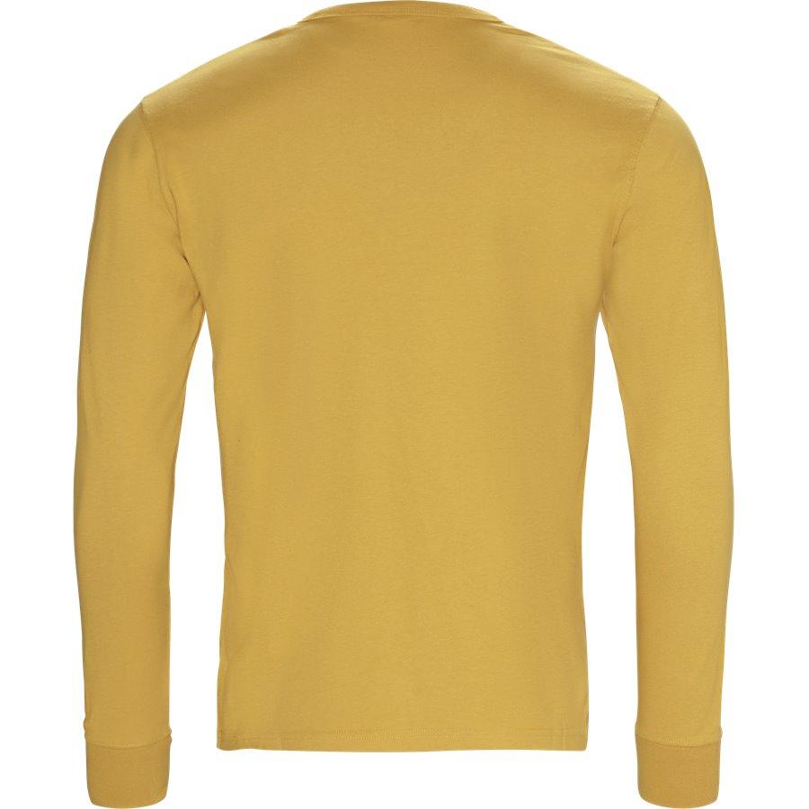ROUND ROCK - Round Rock langærmet t-shirt - T-shirts - Regular - GUL - 2