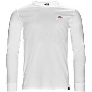 Round Rock langærmet t-shirt Regular | Round Rock langærmet t-shirt | Hvid