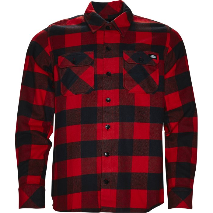 Sacramento  - Skjorter - Regular - Rød