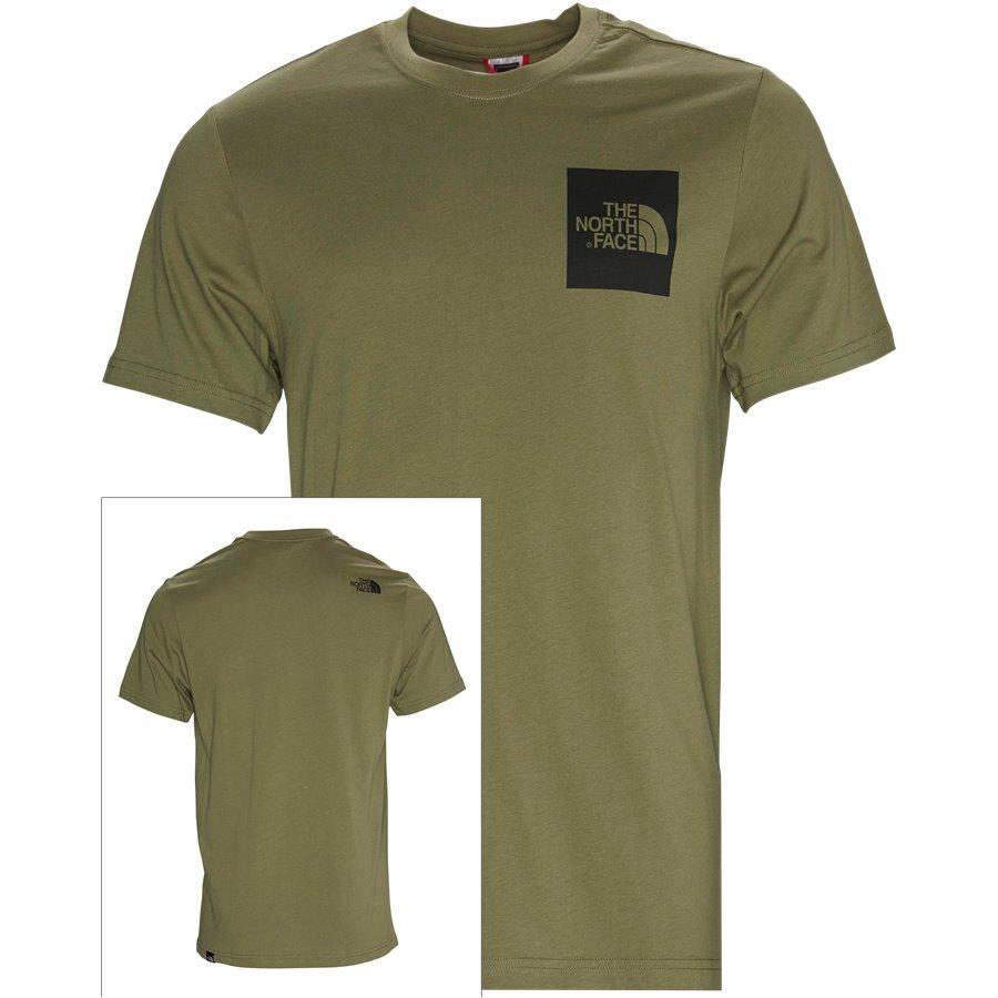 SS FINE TEE - S/S Fine Tee - T-shirts - Regular - GRØN/SORT - 1