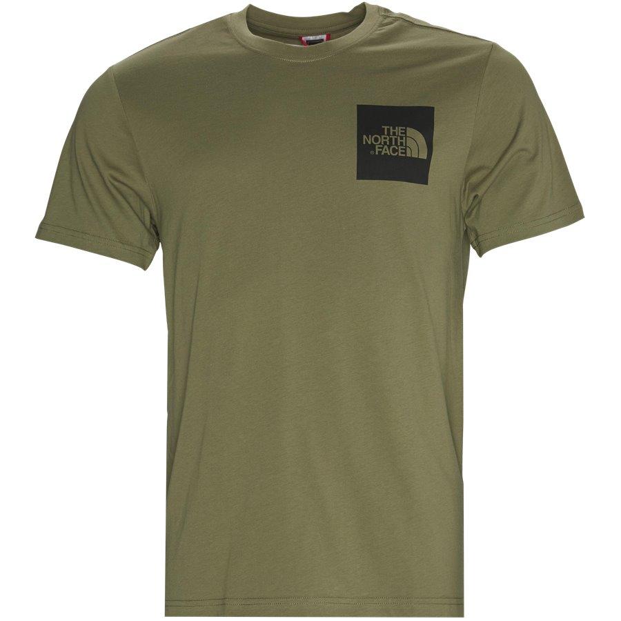 SS FINE TEE - S/S Fine Tee - T-shirts - Regular - GRØN/SORT - 2
