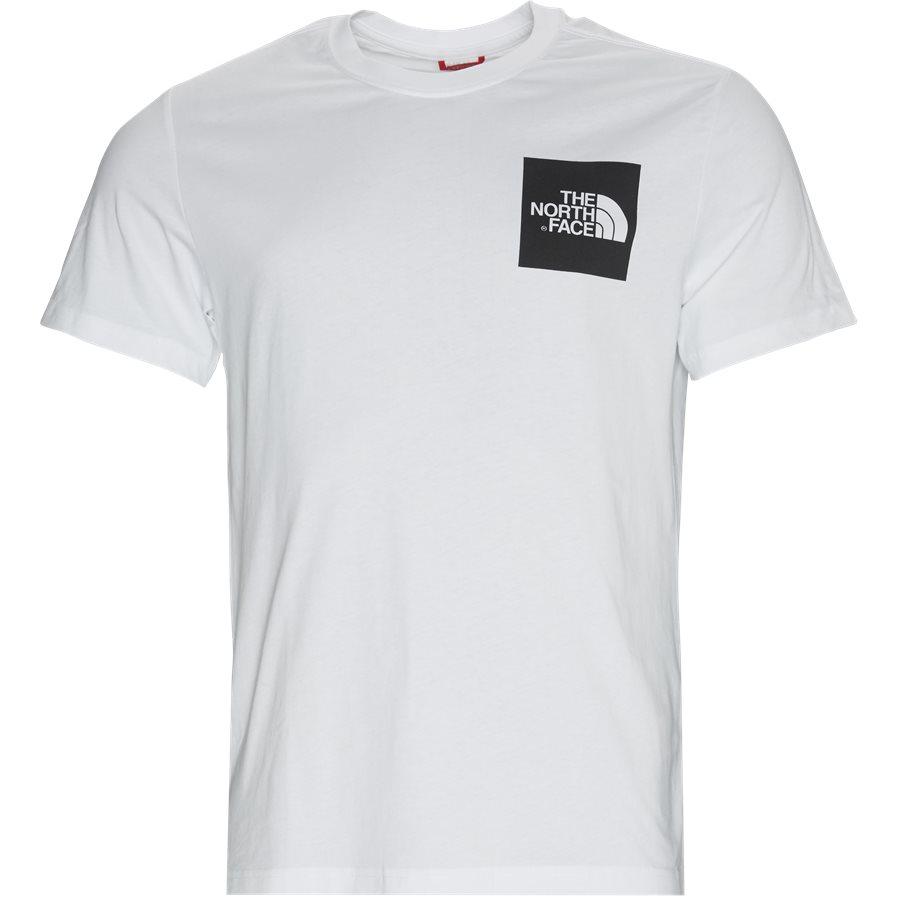 SS FINE TEE - S/S Fine Tee - T-shirts - Regular - HVID/SORT - 1