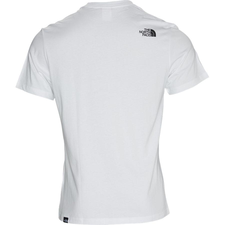 SS FINE TEE - S/S Fine Tee - T-shirts - Regular - HVID/SORT - 2