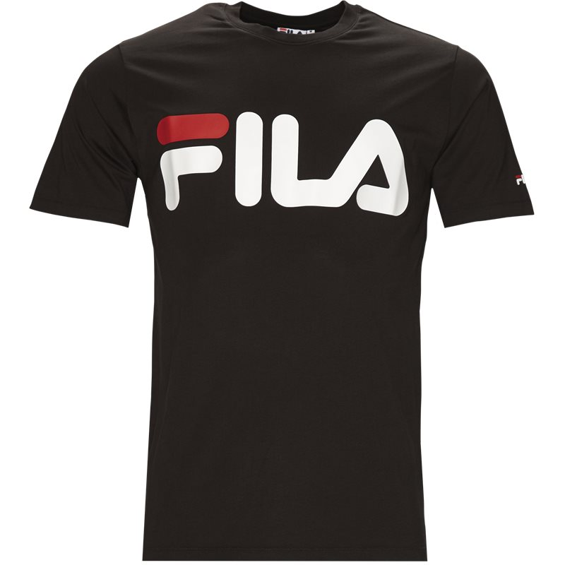 fila Fila classic logo tee sort fra quint.dk