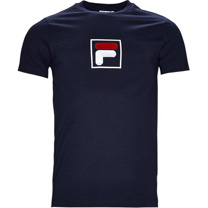Evan Tee - T-shirts - Regular - Blå
