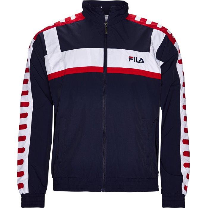 Devin Woven Jacket - Sweatshirts - Regular - Blå