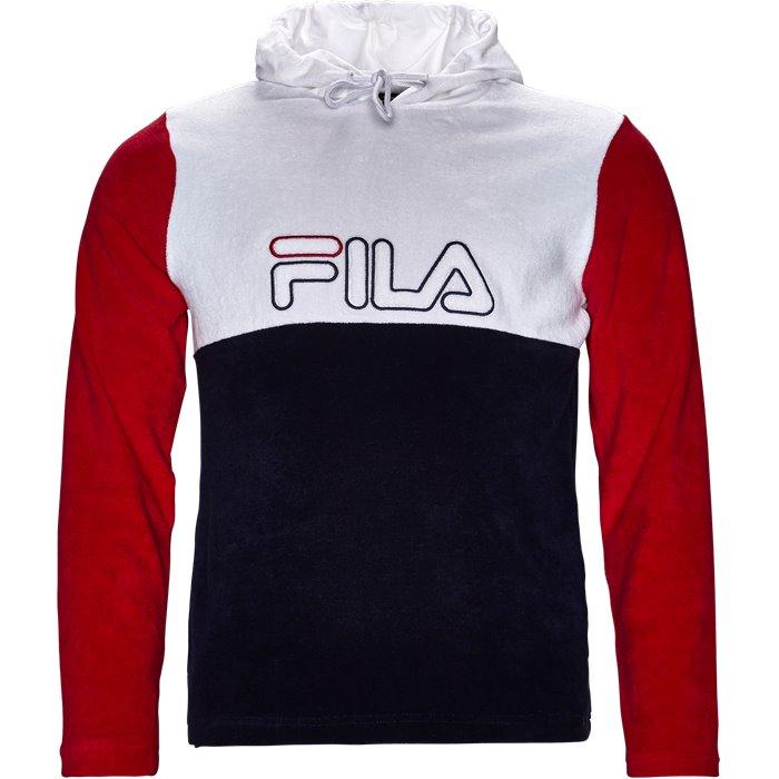 Lux Terry Hoodie - Sweatshirts - Regular - Hvid