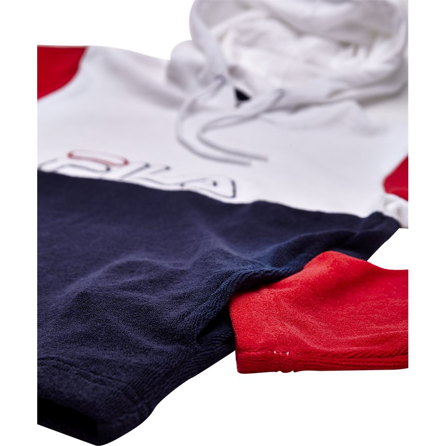 LUX TERRY HOODIE 684316 - Lux Terry Hoodie - Sweatshirts - Regular - HVID - 4