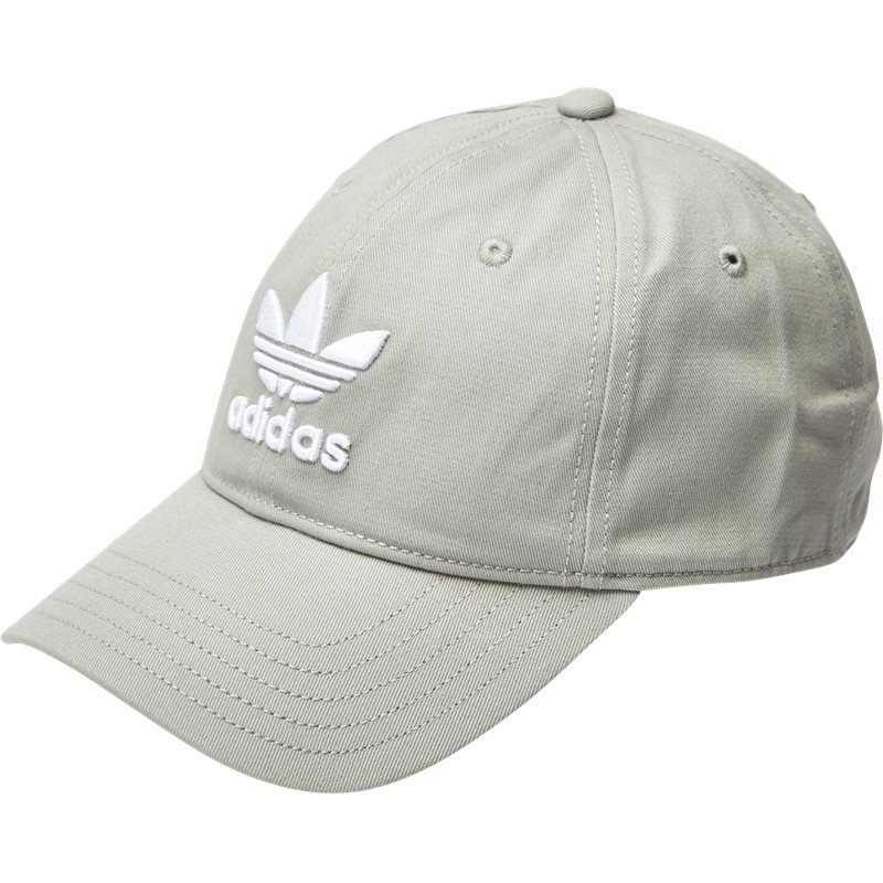 Image of   Adidas Originals Trefoil Cap Bk7282 Caps Grå