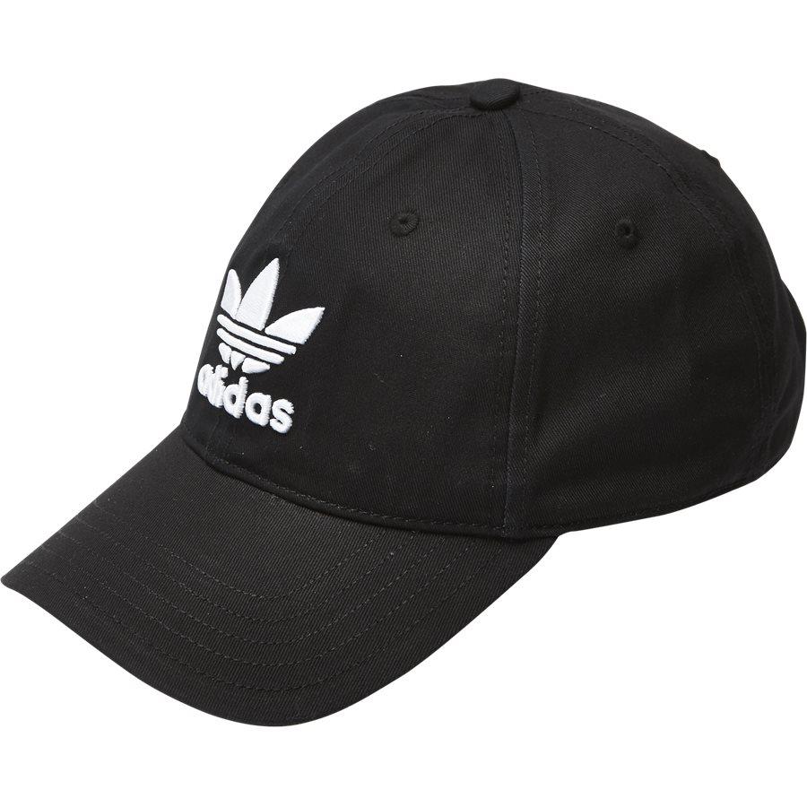 TREFOIL CAP BK7277 - Caps - SORT - 1