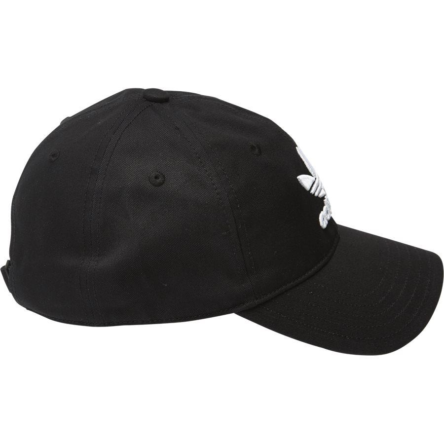 TREFOIL CAP BK7277 - Trefoil Cap - Caps - SORT - 4