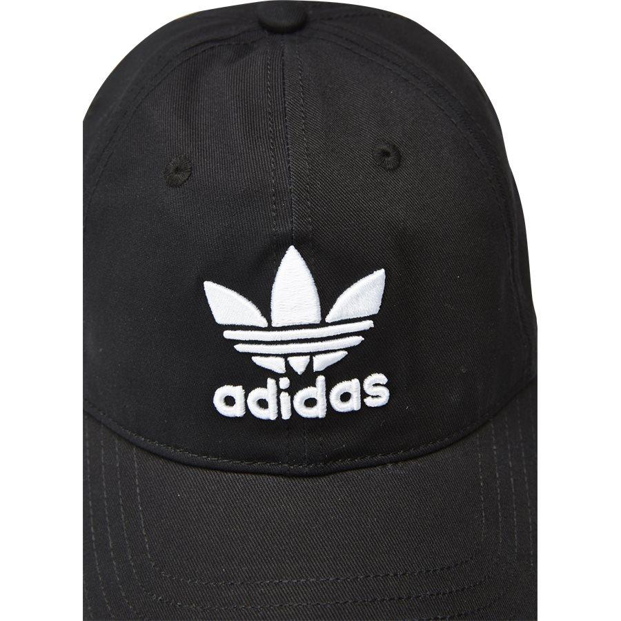 TREFOIL CAP BK7277 - Trefoil Cap - Caps - SORT - 5