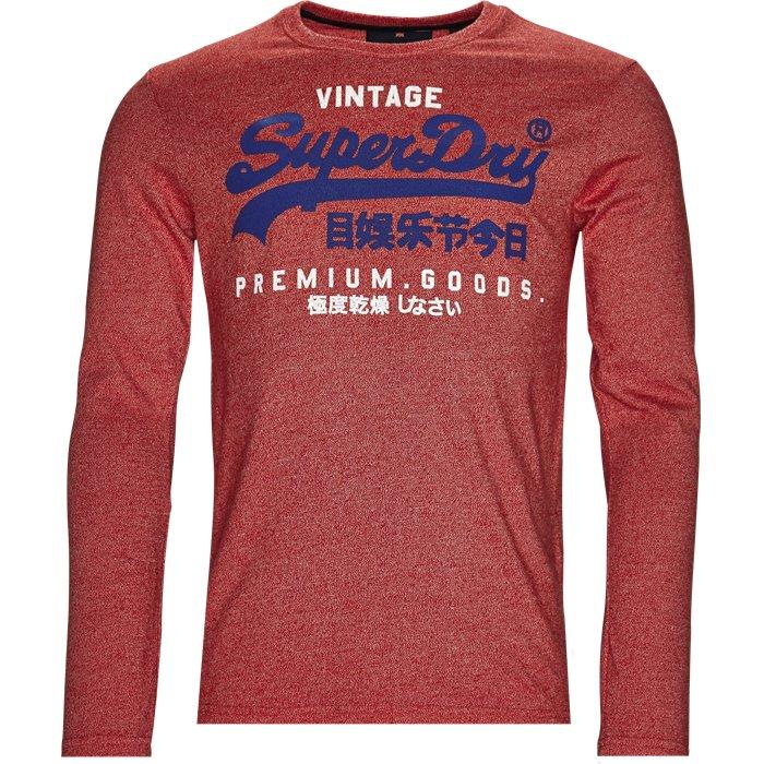 M40003HQ - T-shirts - Regular - Rød