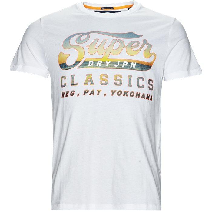 M10111PQ - T-shirts - Regular - Hvid