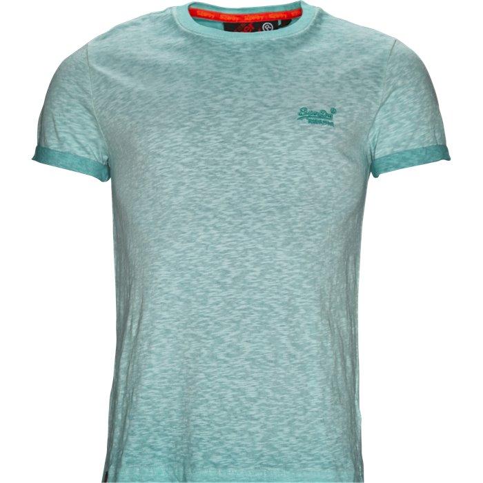 M10006TQ - T-shirts - Regular - Turkis