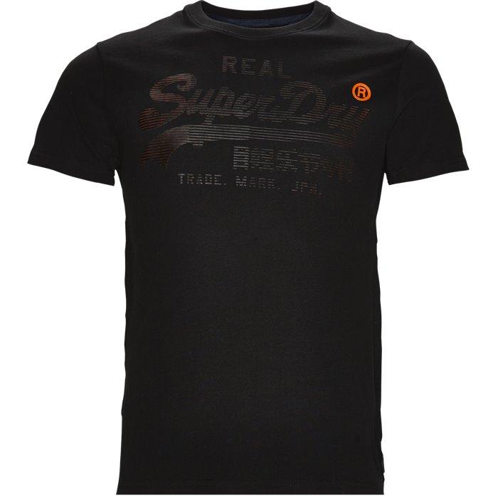 M10014PQ - T-shirts - Regular - Sort