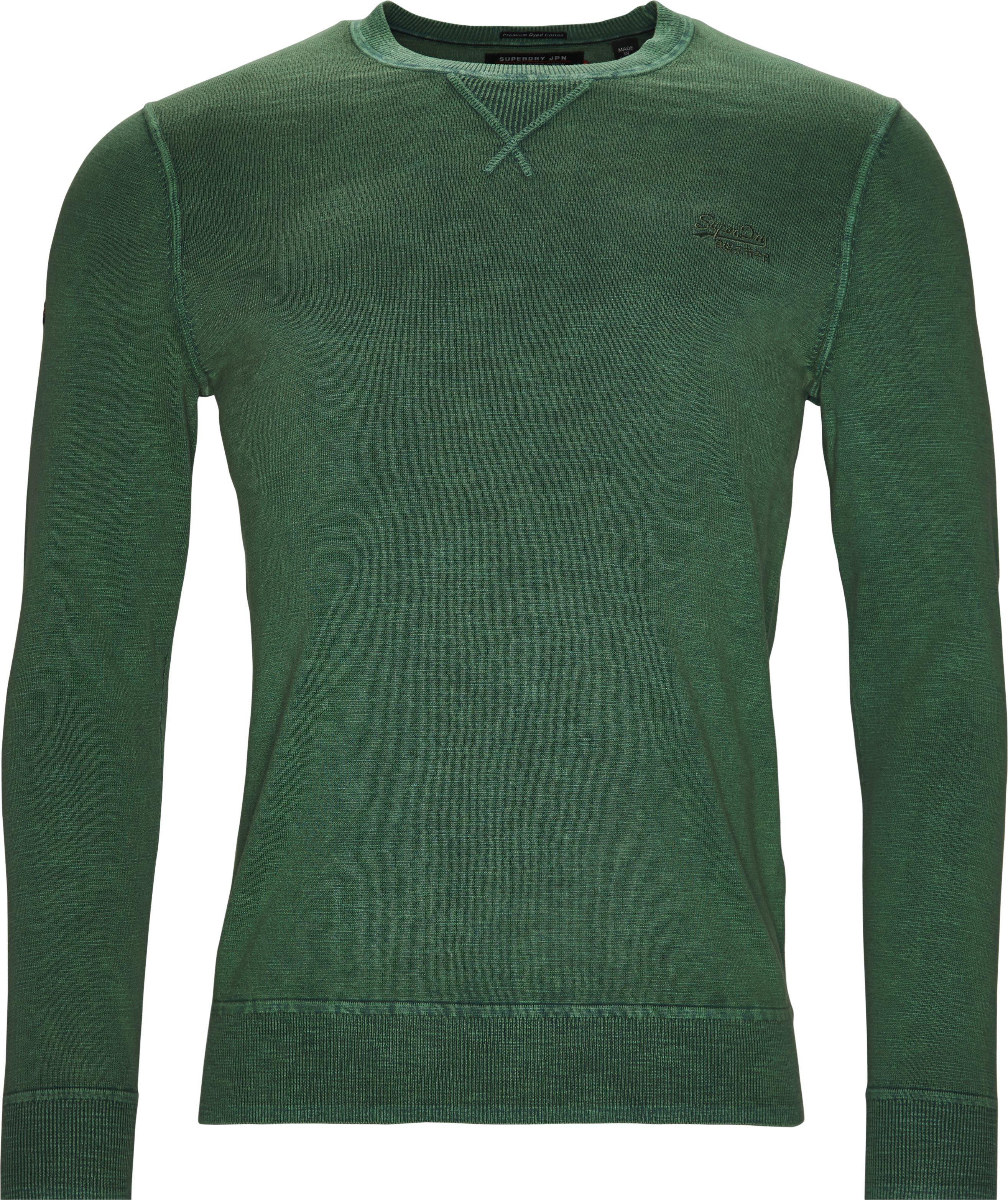M61009AQDS - Sweatshirts - Regular fit - Grøn