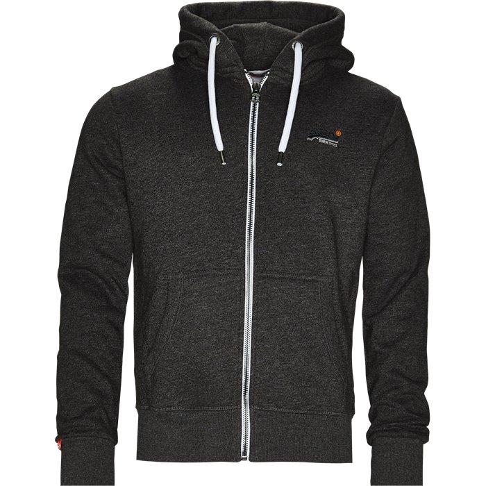 M20012PQ Sweatshirt - Sweatshirts - Regular - Grå