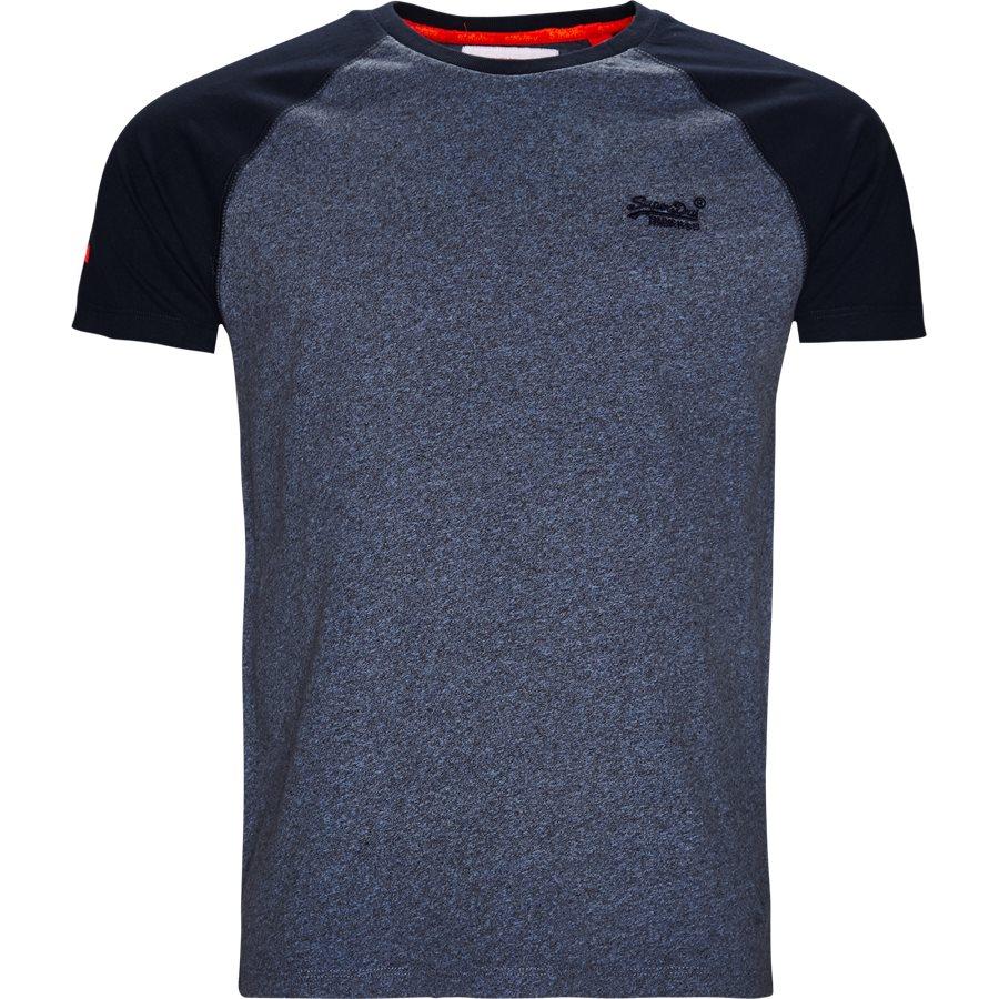 M1000.. - M1000 - T-shirts - Regular - BLÅ/NAVY - 1