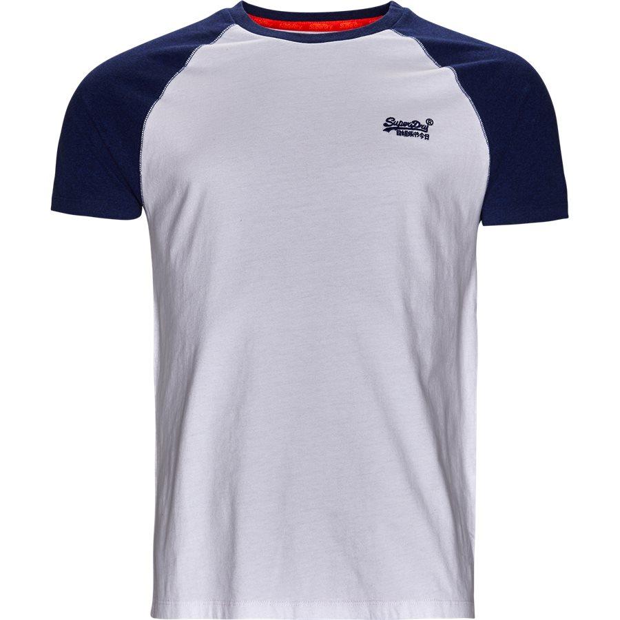 M1000.. - M1000 - T-shirts - Regular - hvid/blå - 1